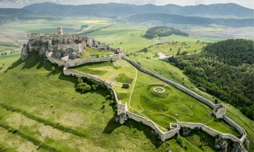 Zipser Burg + Stadt Levoča 1